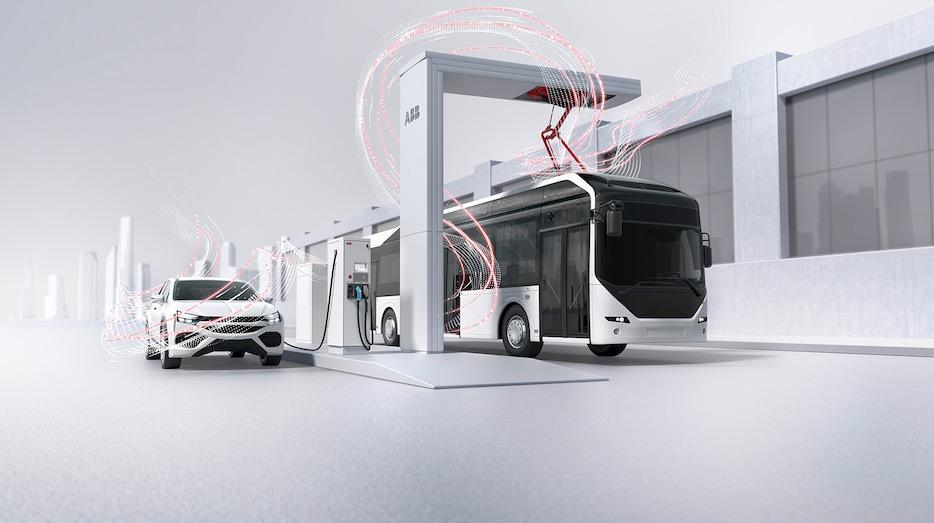 ลักษณะโครงสร้างของ EV Charging ที่ ABB สามารถนำเสนอได้